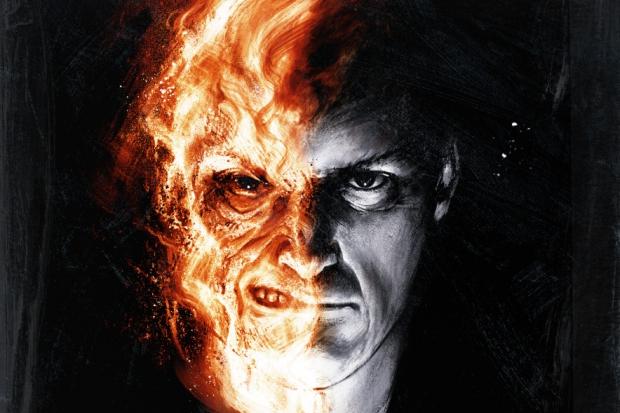 Лицо огонь