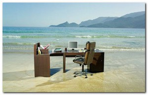 work&beach