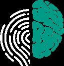 Логотип (темный) Центра развития личности Школа общения Без правил. Мозг каждого человека также уникален, как и отпечаток пальца. Мы сохраним вашу уникальность.